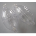 Bubbles Oval Med Clear x 2pc